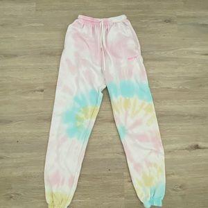 WHITE FOX BOUTIQUE Tie-dye joggers